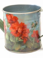 Geraniums on Tin Pattern Packet