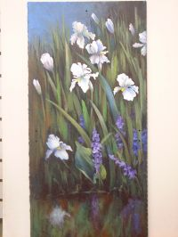 Irises at Water's Edge Pattern Packet