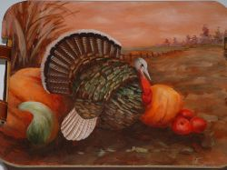 Turkey Scene Pattern Packet